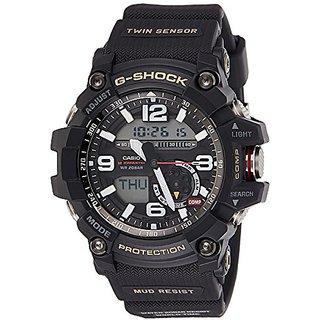 Casio G-Shock Analog-Digital Black Dial Mens Watch - GG-1000-1ADR (G660)