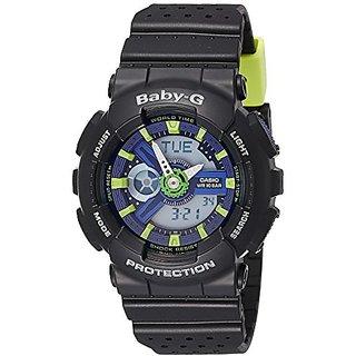 Casio Baby-g Analog-Digital Multi-Colour Dial Womens Watch-BA-110PP-1ADR (B178)