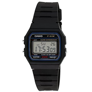 Casio Vintage Series Digital Black Dial Mens Watch - F-91W-1DG (D002)