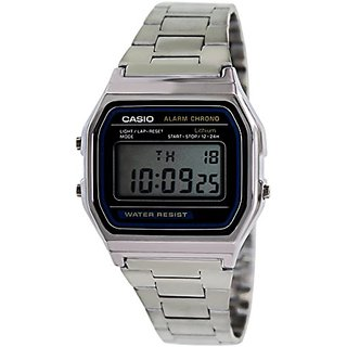 Casio Vintage Digital Grey Dial Mens Watch - A158WA-1DF (D011)
