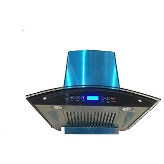 CHIMNEY AUTO CLEAN KITCHEN CHIMNEY TOUCH CONTROL WITH BAFFLE FILTER 60CM 1200 M3/H