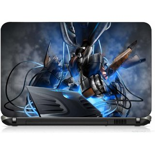 VI Collections SYSTEM ATTACKER PRINTED VINYL Laptop Decal 15.5