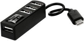 USB 3.1 Type-C To 4-Port USB 2.0 Hub