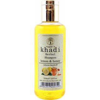 Vagads Khadi Lemon And Honey Shampoo