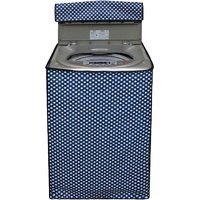 Glassiano Washing Machine Cover For LG T8067TEELR Fully Automatic Top Load 7 Kg