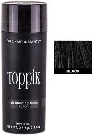Toppik Hair Building Fibers Black Color 27.5 gm Pack of 1