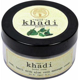 Neem,Basil With Aloevera Massage Cream