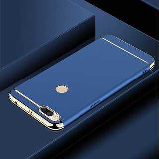 3 in 1 Full Body Slim Fit Joy Room Hybrid Hard Back Cover for Xiaomi Mi A1 - Blue