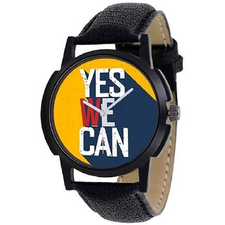 ONS Says Yes We Can Nothing Impossible Wrist Watch For Men