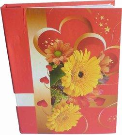 FLOWER PHOTO ALBUM ( SIZE 4x6-104 PHOTOS POCKETS ) MC2172
