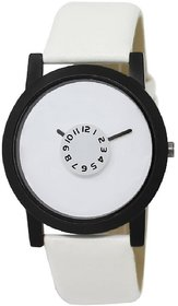 White Dial Leather Belt Paidu Watch For Men