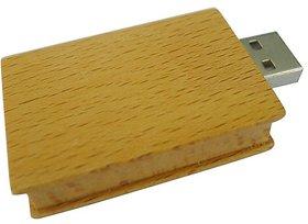 Natural wooden 4gb USB 2.0 pendrive