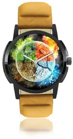 3D Colorful Dial Watch For Men