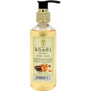 Vagad's Khadi Sandalwood And Honey Body Wash
