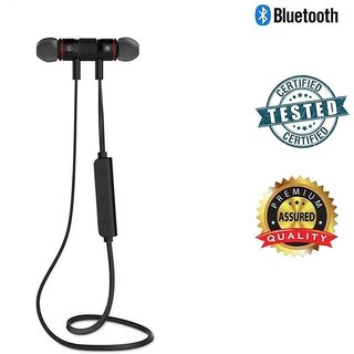 Crazeis Sport Bluetooth Handset compatible for Oppo, Vivo, Smasung, Motorola,LG, Huawei, Gionee, ASUS, Panasonic, Micromax, and Many more. Sport Bluetooth Headset with Mic(Black, In the Ear)