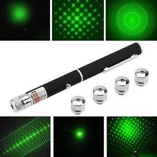 5 In 1 Green Laser Light Pen Pointer 50mw Party Pen Disco Light
