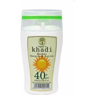 Vagad's Khadi Spf 40 Sunscreen Lotion