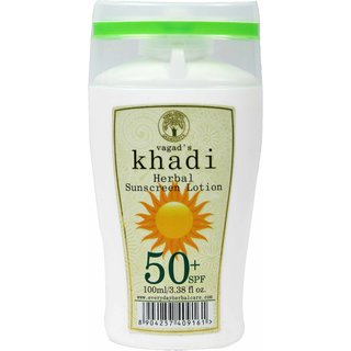 Vagad's Khadi Spf 50 Sunscreen Lotion