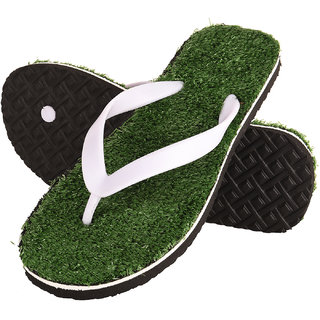 d0a8ad179 Buy Drunken Men S Grass Green Flip Flop Fashion Slippers Online - Get 34%  Off