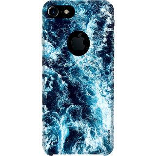 Nexzin Premium 3d Printed Designer  Marble Multicolor Back Case Cover For  IPhone 7 Logocut-Nxz071
