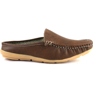 Morro Brown Color Loafers For Men