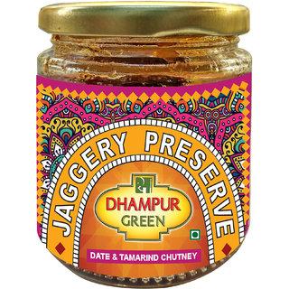 Dhampur Green Date  Tamarind Chutney (Jaggery Preserve), 220g
