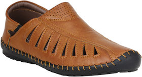 Koxko Men's Beige Casual Shoe