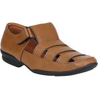 Koxko Men's Tan Sandal