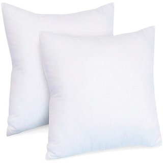 The Intellect Bazaar Non Wooven Cushion Set of 2 (1616 Inches)