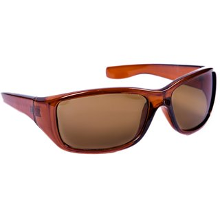 14824e7ac3d4 Buy TheWhoop Brown UV Protected Sports Driving Sunglasses. New Wrap Around  Biking Goggles Online - Get 66% Off