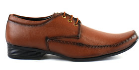 Morro Brown Formal Shoes For Men