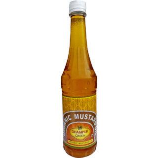 Dhampur Green Organic Mustard Oil  from Black Mustard , 700g