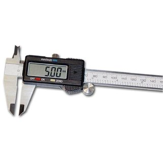 Vernier Caliper Digital 150 mm / 6 LCD Display Electronic with Battery Measuring Vernier Caliper Tools
