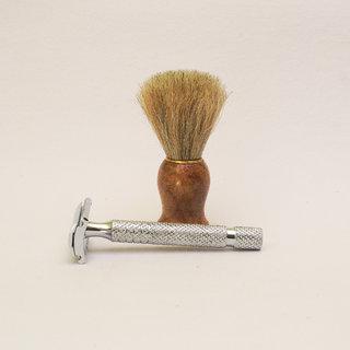 Romer-7 Double Edge Razor  Shaving Brush For Men