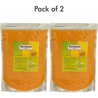 Herbal Hills Turmeric Powder - 1 kg powder - Pack of 2