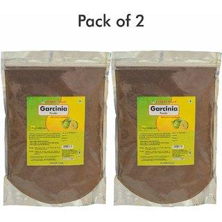 Herbal Hills Garcinia Powder - 1 kg powder - Pack of 2