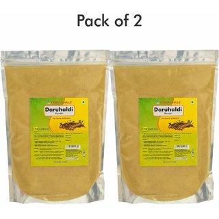 Herbal Hills Daru Haldi Powder - 1 kg powder - Pack of 2