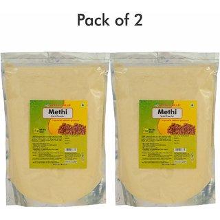 Herbal Hills Methi Seed Powder - 1 kg powder - Pack of 2