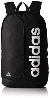 ADIDAS LIN PER BP 22L Laptop Backpack  (Black, White)