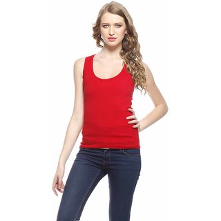 RED Tank Top /Camisole Sando for Women