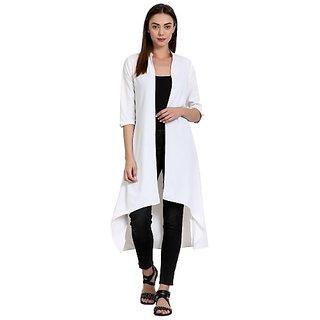 Wish Tree Women High Low White Dress