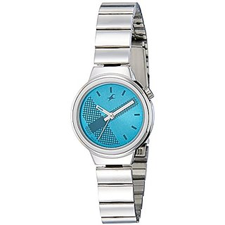 Fastrack Analog Blue Dial Womens Watch-6149SM01