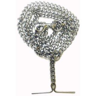 Dog Leash Diamond Cut Heavy Duty Dog Chain With Brass Hook (Xx-Large-Size)