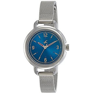 Fastrack Analog Blue Dial Womens Watch-6123SM03