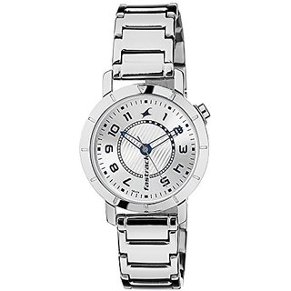 Fastrack Analog Silver Dial Womens Watch - 6112SM01