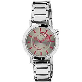 Fastrack Analog Grey Dial Womens Watch - 6112SM02
