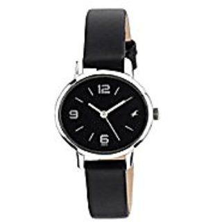 Fastrack Analog Black Dial Womens Watch-6107SL02