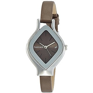 Fastrack Analog Brown Dial Womens Watch-6109SL02