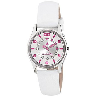 Fastrack Analog Silver Dial Womens Watch - 6116SL01