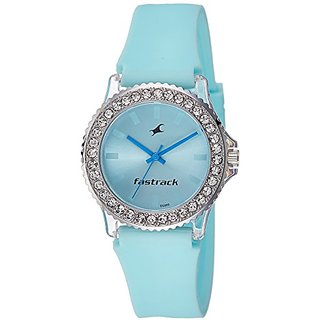 Fastrack Analog Blue Dial Womens Watch-9827PP14J
